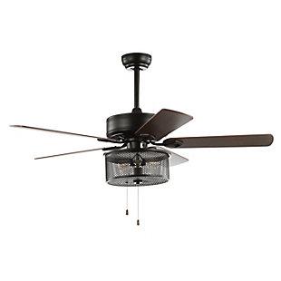 Safavieh Fredrik Ceiling Light Fan, , large