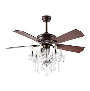 Safavieh Garla Ceiling Light Fan, , large