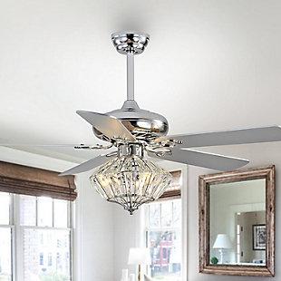 Safavieh Landi Ceiling Light Fan, , rollover