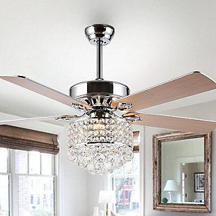 Safavieh Pramton Ceiling Light Fan, , rollover