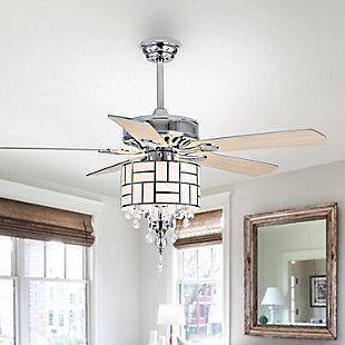 Safavieh Fint Ceiling Light Fan, , rollover