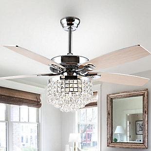Safavieh Lanzer Ceiling Light Fan, , rollover