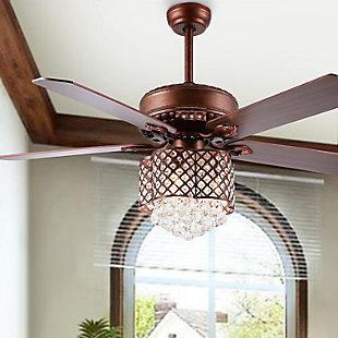 Safavieh Kelso Ceiling Light Fan, , rollover