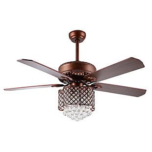Safavieh Kelso Ceiling Light Fan, , large