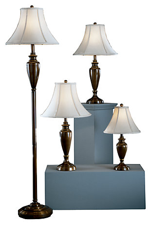 Caron Lamp Set (Set of 4), , large