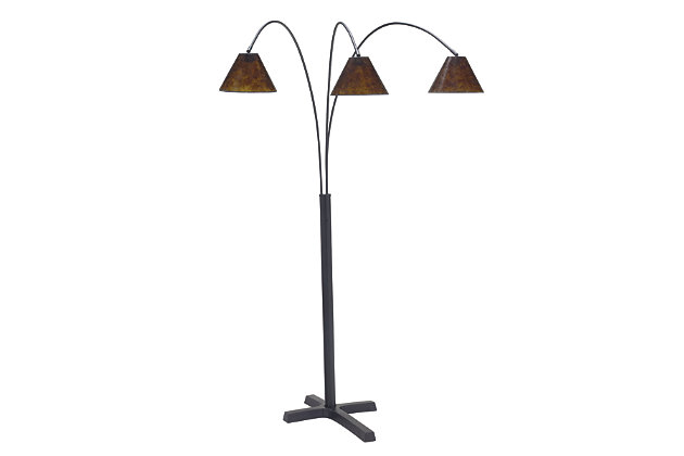 Black Sharde Floor Lamp by Ashley HomeStore
