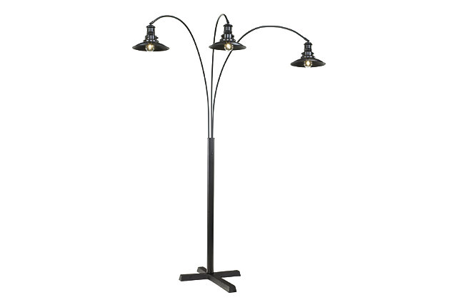 Black Sheriel Floor Lamp by Ashley HomeStore