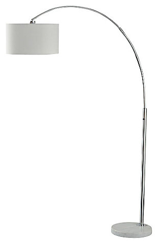 Floor lamps illuminate from the floor up ashley furniture homestore areclia arc lamp large aloadofball