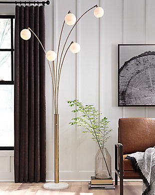 Taliya Arc Lamp, , rollover