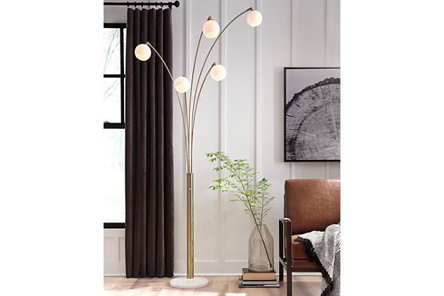 Taliya Arc Lamp, , large