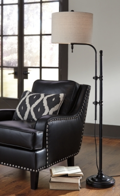 Image of Anemoon Floor Lamp, Black