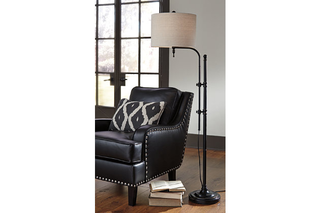 Anemoon floor lamp ashley furniture homestore anemoon floor lamp large aloadofball Image collections