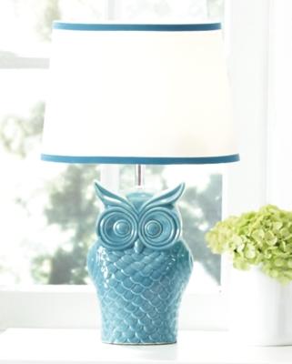 Ashley Sarva Table Lamp, Blue