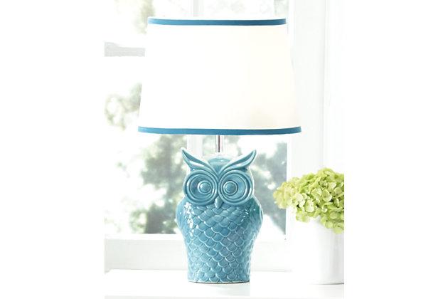Sarva Table Lamp by Ashley HomeStore, Blue