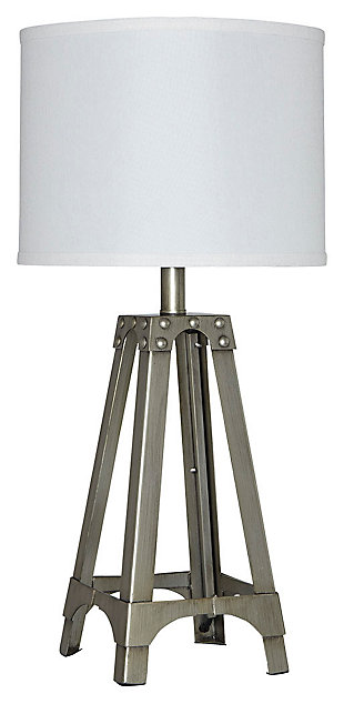 Arty table lamp large