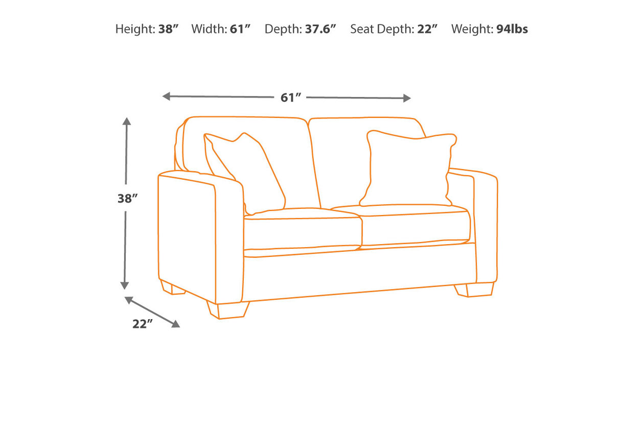Fine Alenya Loveseat Ashley Furniture Homestore Lamtechconsult Wood Chair Design Ideas Lamtechconsultcom