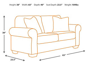 Daystar Sofa and Loveseat, , large