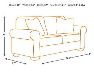 Navasota Sofa and Loveseat, , large