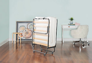 Folding Bed With Memory Foam, , rollover