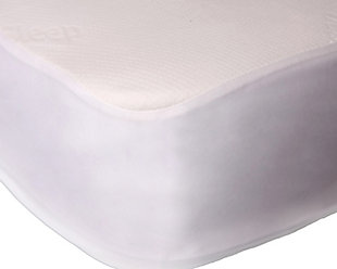 Ultra-Tech Tencel Advanced Twin Mattress Protector, White, rollover
