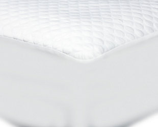 Cool-Tech Advanced Full Mattress Protector, White, rollover