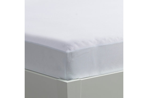iProtect Mattress Protector - Twin, White, large