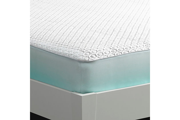 Bedgear Ver-Tex 6.0 Performance Queen Mattress Protector, White, large