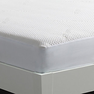 Bedgear Dri-Tec 5.0 Moisture Wicking Twin XL Mattress Protector, White, large