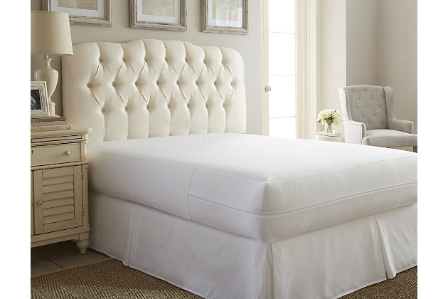 iEnjoy Home Zippered Full Bed Bug and Spill Proof Mattress ...