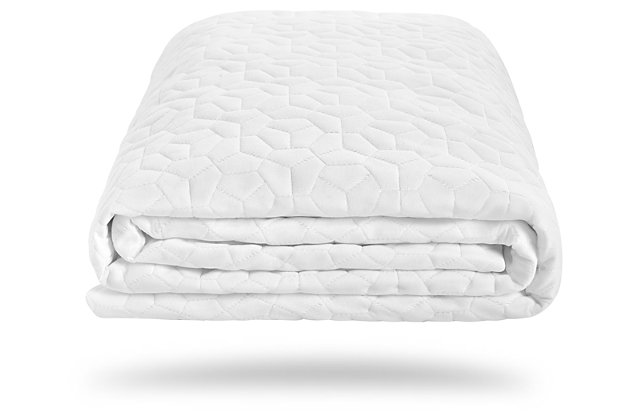 Bedgear Dri-Tec Twin XL Mattress Protector, White, large