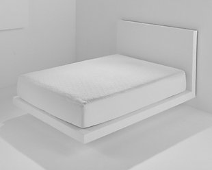 Bedgear Cool Touch Dri-Tec King Mattress Protector, White, rollover
