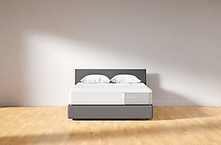 Casper Nova Hybrid Twin Mattress, White, rollover