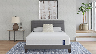 "Scott Living by Restonic Chelsea 11"" Hybrid Medium Twin Mattress, Blue, rollover"