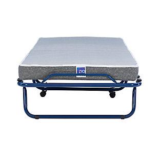 Linon Zio Sleep Folding Rollaway Bed, , large