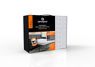 BEDGEAR® Dri-Tec® Sofa Mattress Protector Twin, White, large