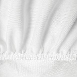 SensorPEDIC® Luxury Ultra Loft Gel Microfiber Twin Mattress Pad, White, large