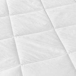 SensorPEDIC® MicroShield® Twin Mattress Pad, White, large