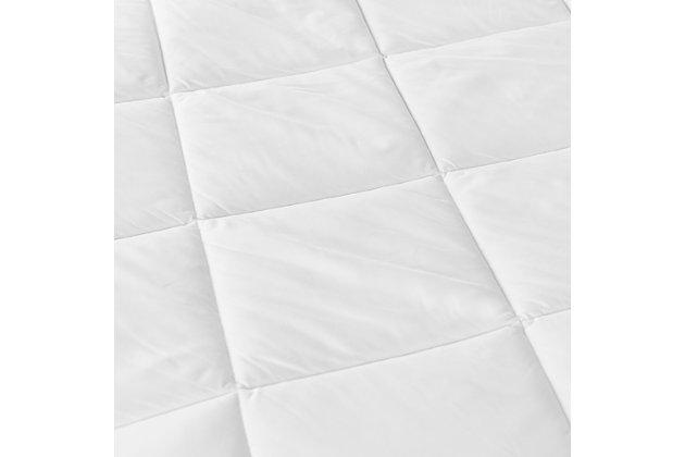 SensorPEDIC® MicroShield® Queen Mattress Pad, White, large