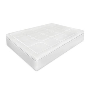 SensorPEDIC® 3-Inch Euro Majestic Gel-Infused Memory Foam Twin Mattress Topper, White, large