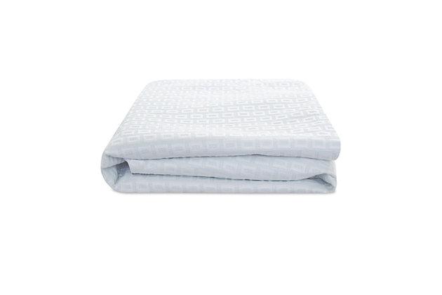 SensorPEDIC® SensorCOOL Elite Ultra Cooling Waterproof Queen Mattress Protector, White, large