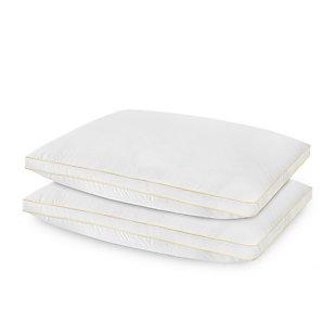SensorPEDIC® SofLOFT Medium Density Standard Pillow 2 Pack, White, large