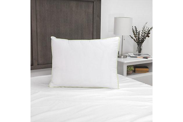 SensorPEDIC® SofLOFT Firm Density Standard Pillow 2 Pack, White, large