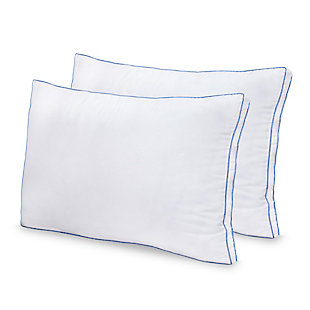 SensorPEDIC® MemoryLOFT Deluxe Gusseted Bed Pillow with Memory Foam Center, , large