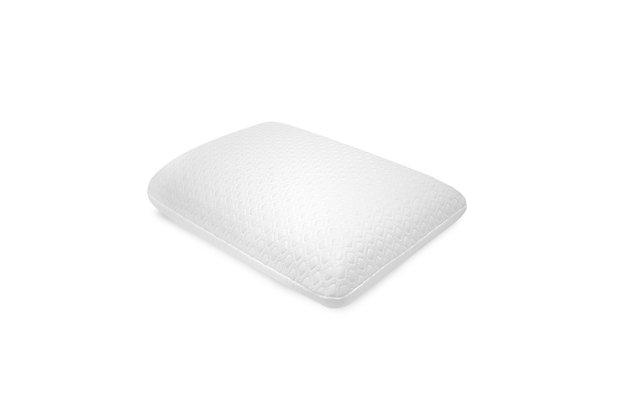 SensorPEDIC® Essential Collection Gel-Overlay Memory Foam Comfort Bed Pillow, , large