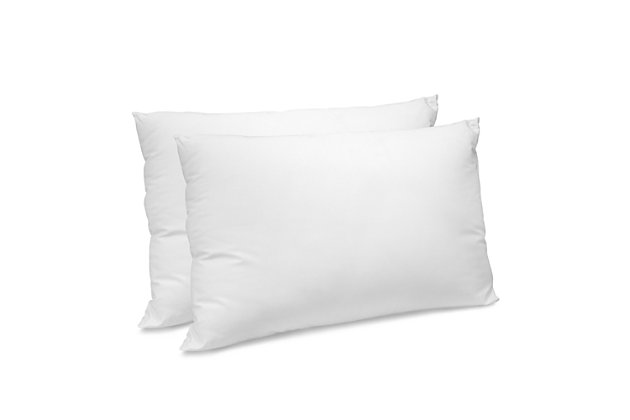 SensorPEDIC® CoolMAX 400 Thread Count Cotton-Rich Fiber Jumbo Bed Pillow 2 Pack, White, large