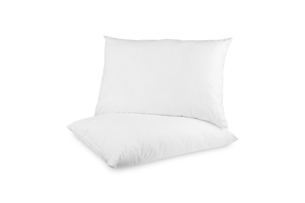 BioPEDIC® Ultra-Fresh Antimicrobial Standard Bed Pillow with Cotton Cover 4 Pack, , large