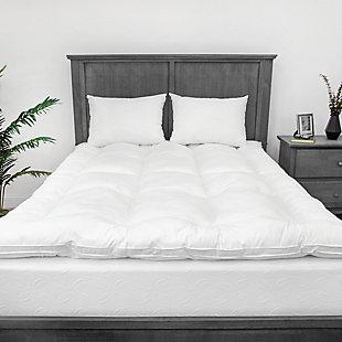 BioPEDIC® Eco Classic 3-Inch Down Alternative Twin Fiber Bed, White, large