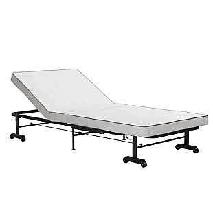 Atwater Living Elena Twin XL Folding Guest Bed With Memory Foam, , large
