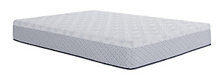 "Scott Living by Restonic Sawyer 11"" Plush Memory Foam Queen Mattress, White, large"