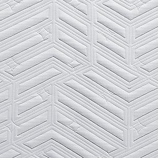 "Scott Living by Restonic Presley 12"" Ultra Plush Memory Foam Queen Mattress, White, large"